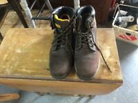 DeWalt steel toe-capped work boots