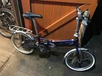 Trek Navigator F200 Folding Bike. Very light Bike, Good condition. Free Lock, Lights, Delivery