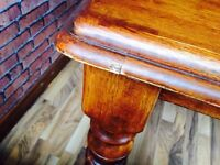 Solid wood farmhouse kitchen style table