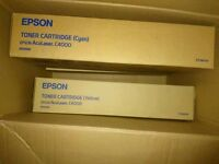 Various Epson c4000 cartridges