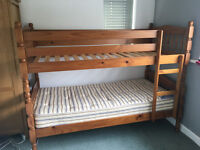 Heavy Duty Pine Bunk Bed