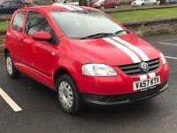 2008 VW FOX 1.2 * PETROL * 3 DOOR * LONG MOT * P/X * *IDEAL FIRST CAR* *SERVICE HISTORY * DELIVERY