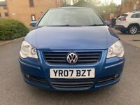 Volkswagen, POLO, Hatchback, 2007, AUTOMATIC 1.4, LOW MILEAGE, 2 KESY, FULL SERVICE, LADY OWNER