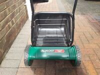 Qualcast Panther 380 manual lawnmower.