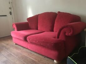 Free sofa and matching armchair