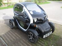 Renault Twizy electric 2-seater, zero emissions, with new high quality windows