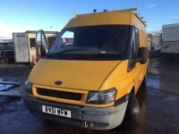Ford Transit 2.4 diesel mwb hihg top Parts bonnet - door - whell - engine - gearbox - axel