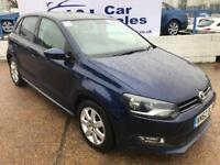 VOLKSWAGEN POLO 1.4 MATCH 5d 83 BHP A GREAT EXAMPLE INSIDE AND OUT (blue) 2012