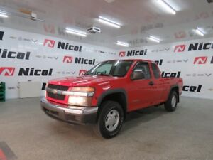 2005 CHEVROLET COLORADO 4WD DOUBLE CAB LS