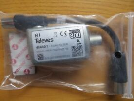 Televes 404401 - at800 LTE/4G Filter Coax Consumer Channel 59
