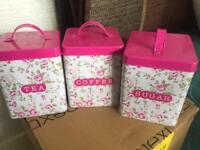 Tea sugar coffeee storage
