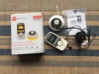 Motorola MBP 161 baby monitor