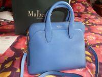 Mulberry Small Colville Bag - Porcelain Blue