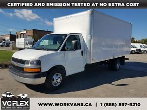 2012 Chevrolet Express G3500 16Ft Aluminum Box V8 Gas