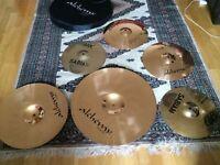 Sabian AAX 13'' Stage Hi-Hats & Istanbul ART Cymbal Box Set