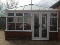 4m x 4m Conservatory. Good condition. Dismantled and numbered. Ready for collection