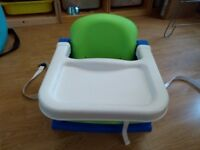Child's dining booster seat