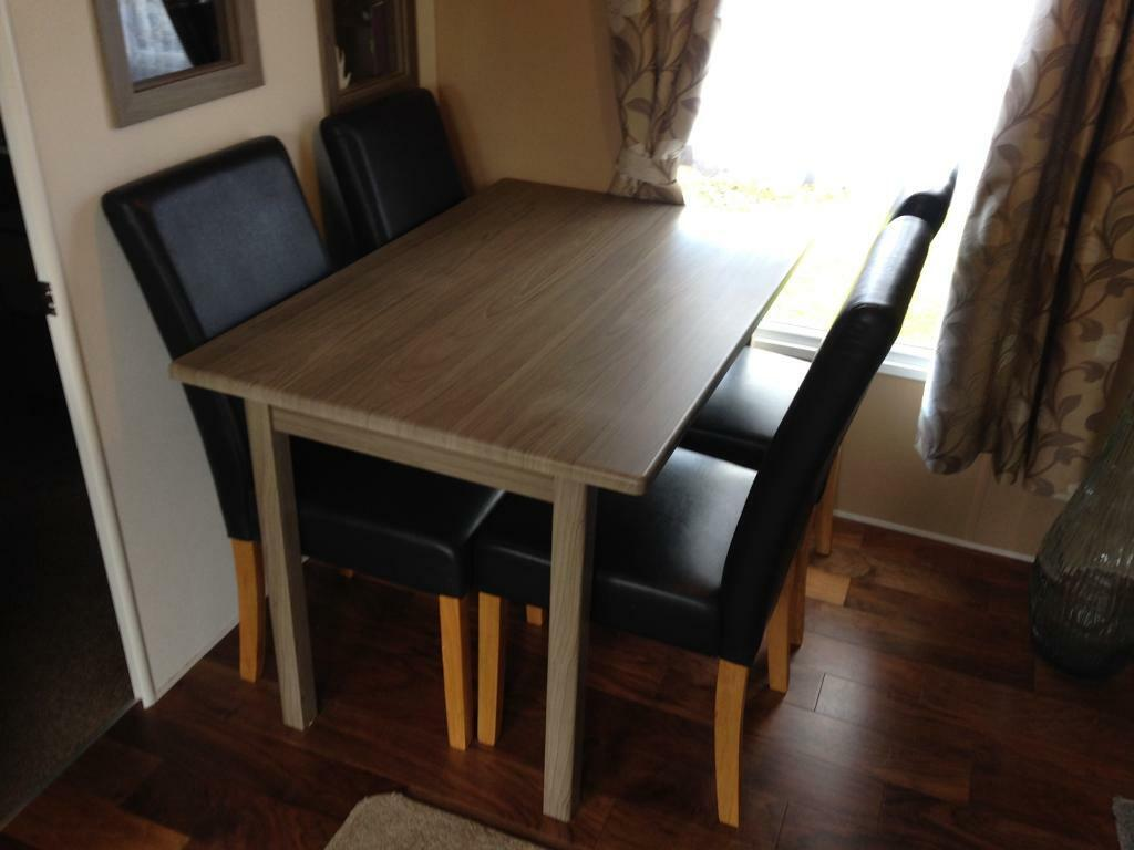 4 Seater Dining Table And Chairs In Northampton Northamptonshire Gumtree