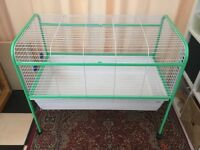 Indoor rabbit guinea pig hutch cage