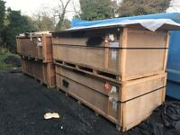 Ply Lined Boxes For sale £50 each.