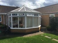 PVC conservatory for sale