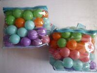 Ball Pit Balls- 2 New Bags
