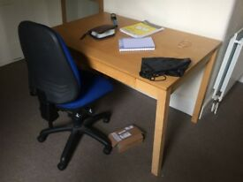 Desk and chair for sale. Only £50