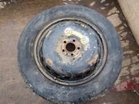 FREE: Space saver wheel for 4x4, tyre damaged, rim is ok