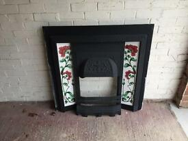 Agnews cast iron fireplace