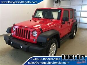2015 Jeep WRANGLER UNLIMITED Sport- Leather, Heated Seats, Alpin