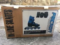 In-line skates adult size 4-5