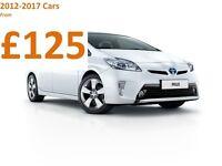 PCO Car Rent Hire Toyota Prius Uber Cars 2012-2017 - NO UPFRONT DEPOSIT