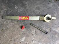Bulldog 200Q Caravan Stabilser parts