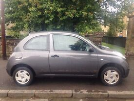 Nissan Micra 1.2 2007 (57)**Low Insurance Group**Full Years MOT**Very Reliable Car**Only £1595