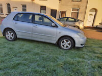 Automatic 2004 Toyota Corolla 1.6L, 5 Door, Full Service History. Parking Sensors. Lady Owner