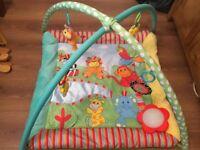 Mothercare Baby Safari Playmat / Activity Mat / Gym Mat (Lights & Sounds) - Excellent Condition