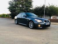 BMW 520D M SPORTS-2008-LCI-DIESEL-6 SPEED MANUAL-START STOP BUTON-FULL SERVICE-FUL LEATHER-CLEAN CAR