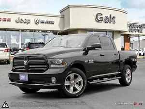 2016 Ram 1500 SPORT | NAVI | BACK-UP CAM | ONLY $271 BI-WEEKLY*