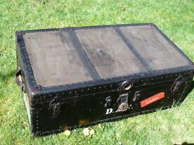 An Original Steamer Trunk