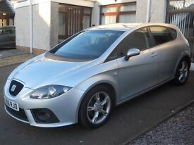 Seat Leon FR 2.0 TDI 170bhp, Genuine low mileage.