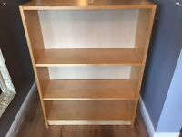 Wooden bookcase,