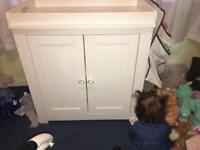 Baby changing unit/ cupboard