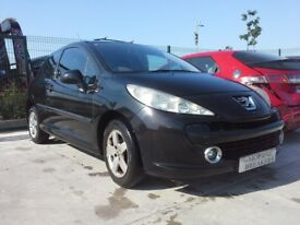 **For breaking** Peugeot 207 sport, 1.4 petrol, 5 speed (2008).