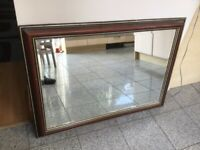 Large rectangular wall mirror -ready to hang-101cm x 72cm-can be hung vertical or horizontal