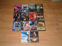 Selection of Dvd's Harry Potter, Ironman, Xmen, Spiderman, Mr bean ETC