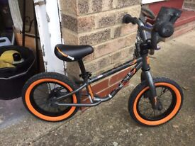 Balance bike - Mongoose - used for 1 month - A1 condition