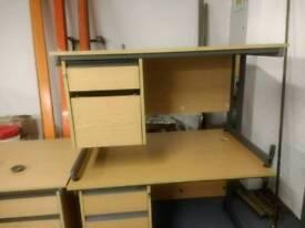 5 office desks
