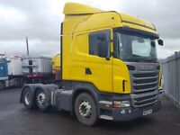 2013- 13 plate scania r440 highline 6x2 midlift auto gearbox one comp owner plus vat