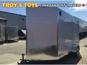 2018 Canadian Trailer Company 6X12 V-Nose Cargo Trailer