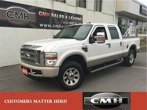 2010 Ford F-250 KING RANCH DIESEL 4X4 NAV ROOF CAM *CERTIFIED*